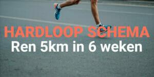 5km hardlopen voor beginners in korte tijd