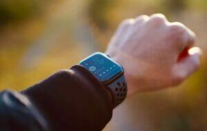 Apple watch met hardloop app