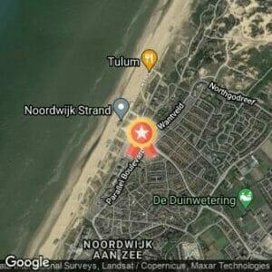 Afstand 10 van Noordwijk 2017 route