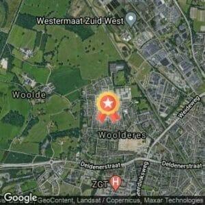 Afstand 2e Woolderesloop 2020 route