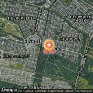 Afstand 30 jaar TRR-Bosloop (jubileum editie) 2018 route
