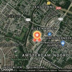 Afstand 30 van Amsterdam Noord 2020 route