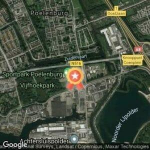 Afstand 3e Vijfhoekparkloop 2020 route