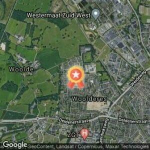 Afstand 3e Woolderesloop 2020 route