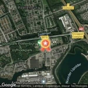 Afstand 4e Vijfhoekparkloop 2020 route