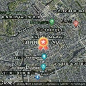 Afstand 4Mijl van Groningen 2021 route
