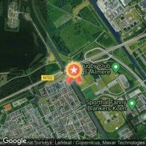 Afstand Almere Lenteloop 2017 route