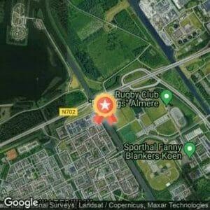 Afstand Almere Lenteloop 2018 route