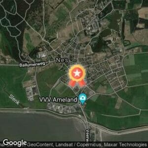 Afstand Ameland Adventurerun 2019 route