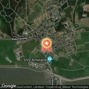 Afstand Ameland Adventurerun 2020 route
