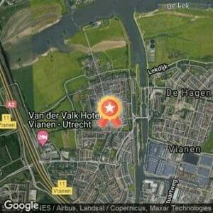 Afstand Andus Group Vrijstad Vianen Loop 2020 route