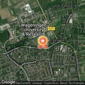 Afstand Begin met hardlopen! in Wageningen 2021 route