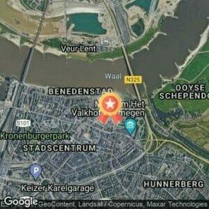 Afstand Bruggenloop Nijmegen 2017 route