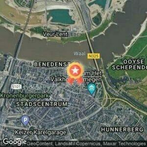 Afstand Bruggenloop Nijmegen 2018 route