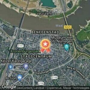 Afstand Bruggenloop Nijmegen 2020 route