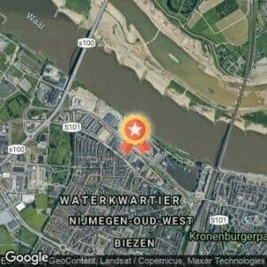 Afstand City Trail Nijmegen 2018 route