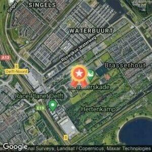 Afstand De 25e Groene Halve Marathon 2018 route