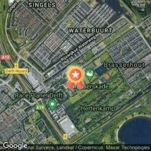 Afstand De 26e Groene Halve Marathon 2019 route