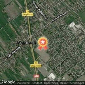 Afstand De 4 Mijl van Staphorst Afgelast 2020 route
