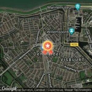 Afstand Dutch Coast Ultra Run by Night 2017 route