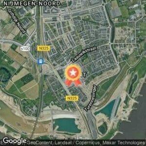 Afstand Eiland KidsRun Nijmegen 2020 route