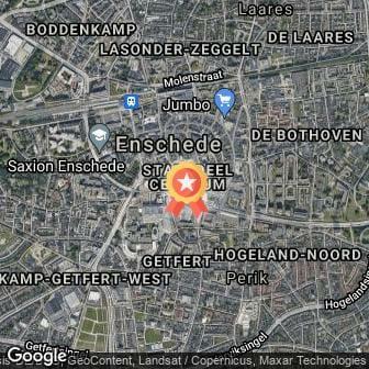Afstand Enschede Marathon 2022 route