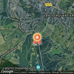 Afstand Estafetteloop Vaals - Venlo 2017 route