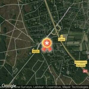 Afstand Gooise Heideloop 2020 route