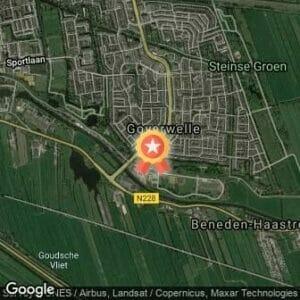 Afstand Halve Marathon Gouda 2019 route