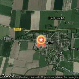 Afstand Halve marathon Lauwersoog-Ulrum 2020 route