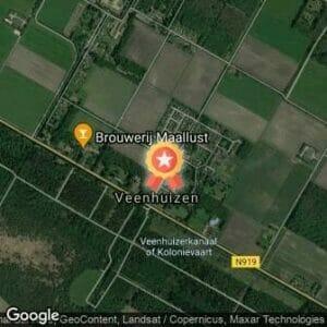 Afstand Herfst Bosloop Veenhuizen 2018 route