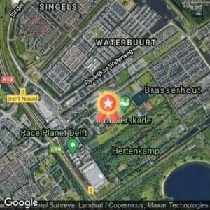 Afstand Houttrail Delft 2021 route