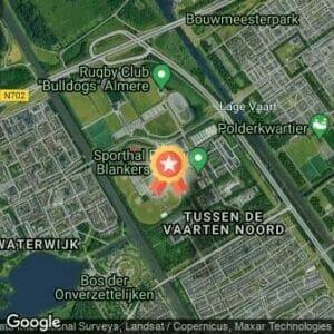 Afstand Jubileumloop AV ALmere '81 2021 route