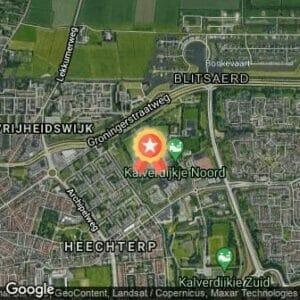 Afstand Kleine Wielenloop Leeuwarden 2021 route
