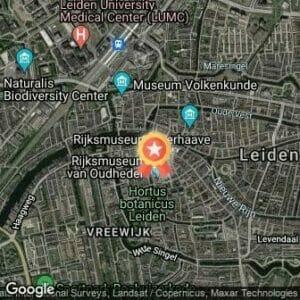 Afstand Leiden Marathon 2019 route