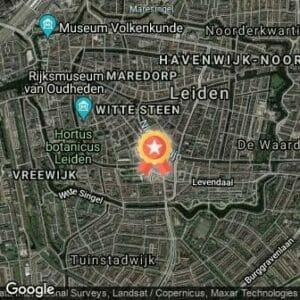 Afstand Leiden Marathon 2021 route