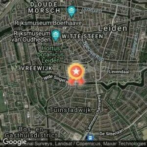 Afstand Leiden Marathon Nightrun 2020 route