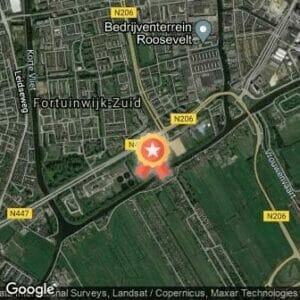 Afstand LRRC trainingsloop voor Leiden Maratahon 2019 route