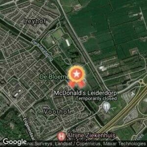 Afstand MidZomerLoop Leiderdorp 2017 route