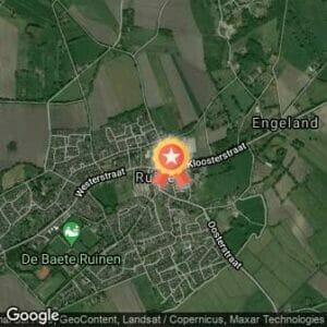Afstand Mooi Ruinen Run 2019 route