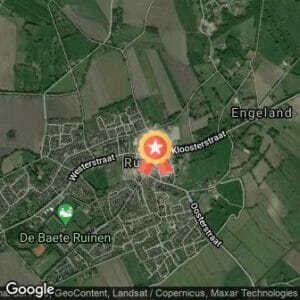 Afstand Mooi Ruinen Run 2020 route
