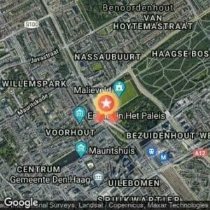 Afstand NN CPC Loop Den Haag Afgelast 2021 route