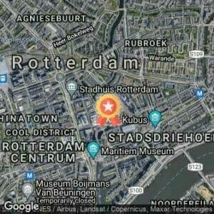 Afstand NN Marathon Rotterdam 2021 route