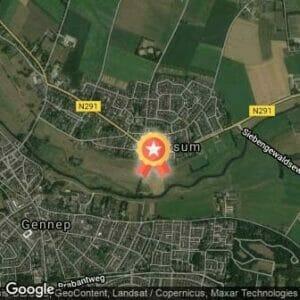 Afstand Osseloop 2019 route