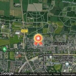 Afstand Oudejaarscross/trail Leeuwarden 2021 route
