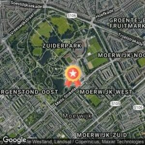 Afstand Parklopen Den Haag - Zuiderpark 2019 route