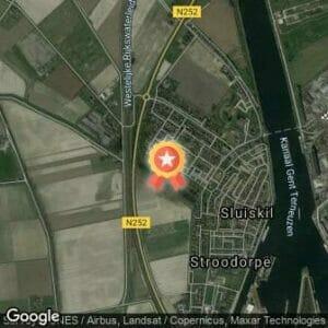 Afstand Piet Spruitloop Sluiskil 2020 route
