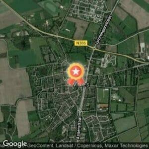 Afstand Rabocup Assen en Noord-Drenthe 5 en 10km VOV Run Vries 2021 route