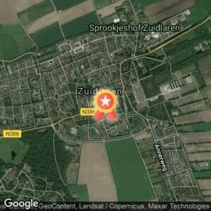 Afstand Rabocup Assen en Noord-Drenthe 5 en 10km Zuidlaardermarktrun 2021 route
