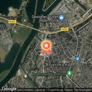 Afstand Roermond City Run 2020 route